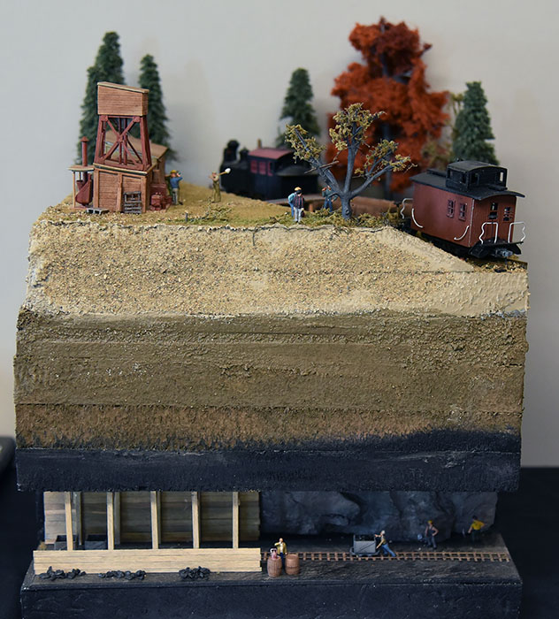 <em>Lead Mine on Branch Line</em> by Gary Loiselle - 1st Place Display Category<br>2019 MWR & TLR Joint Convention